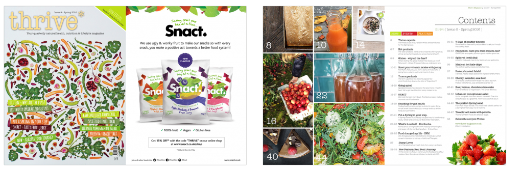 health and nutrition magazine