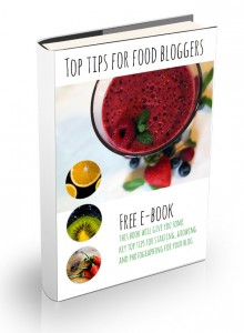 Food Blogger Book