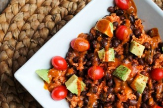 vegan 8 recipe black bean