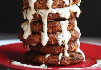 courgette fritters vegan