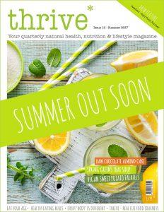 summer thrive magazine