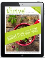 winter issue Thrive Health Magazine