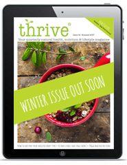 winter issue Thrive Health Magazine