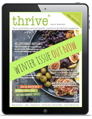 thrive magazine winter issue