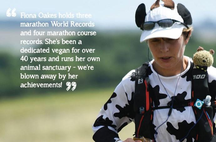 Fiona Oakes Vegan Athlete Thrive Magazine