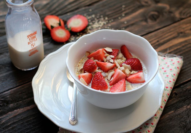 quinoa porridge breakfast