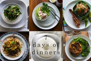 7 days of healthy dinners