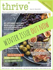 natural health magazine thrive