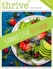 thrive magazine spring issue healthy food and wellbeing