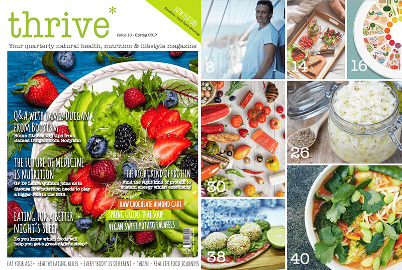 thrive healthy magazine