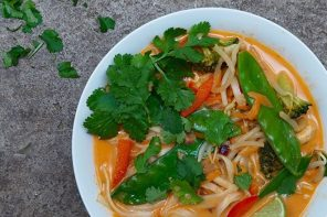 Spring Greens Thai Soup