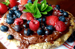 Gluten Free Vegan Summer Berry Tart