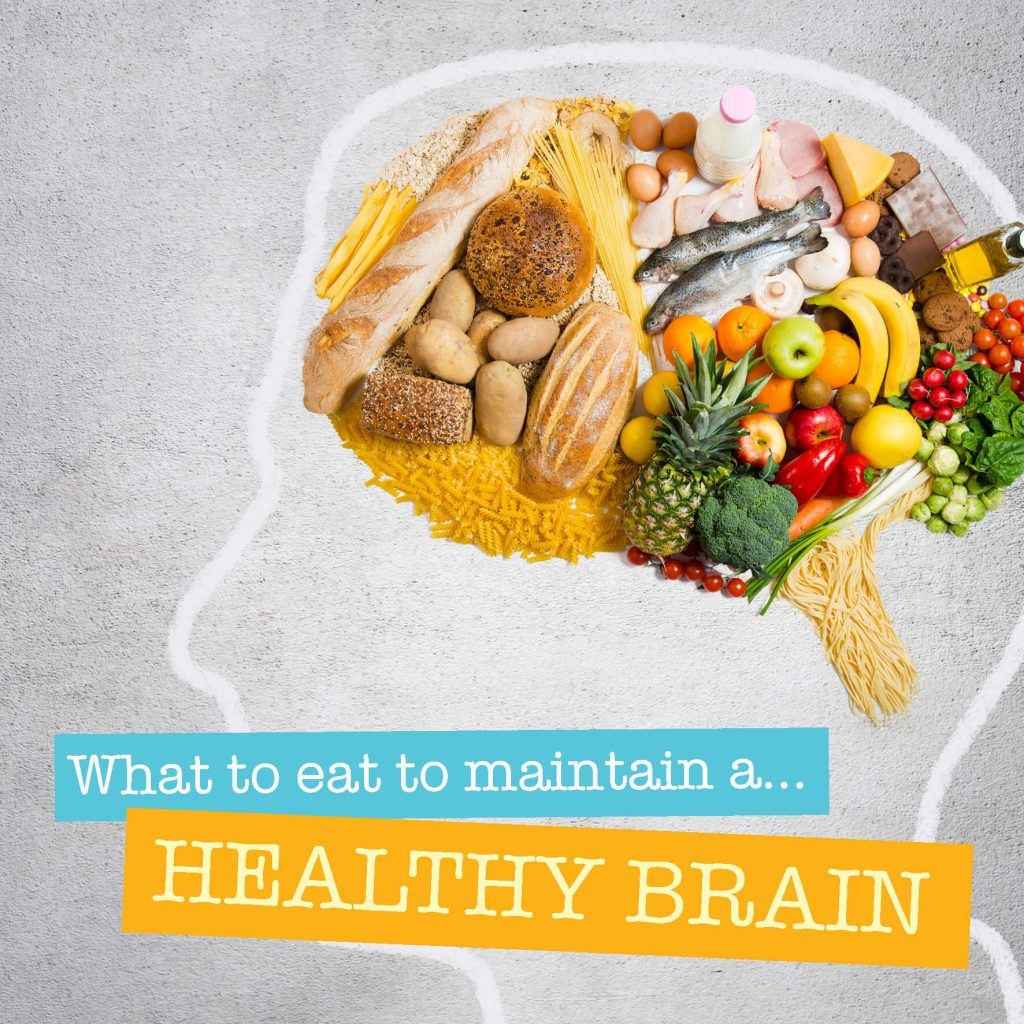 Eating for a healthy brain