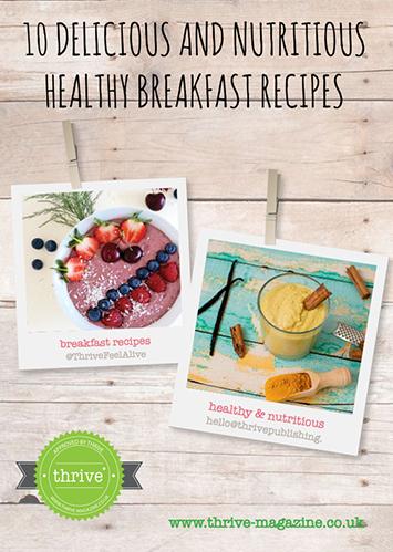 thrive recipe book
