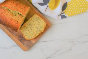 Lemon and Poppy Seed Honey Cake