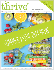 thrive - Thrive Nutrition and Health Magazine