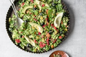 Vegan Nutty Broccoli Tabbouleh