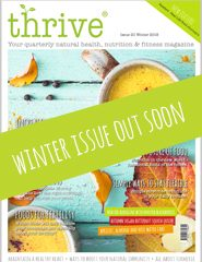 winter issue of Thrive magazine