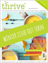 winter issue of Thrive magazine