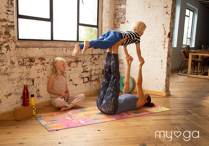 Spreading the spirit and joy of yoga