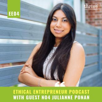 Julianne Ponan creative nature - Thrive Nutrition and Health Magazine