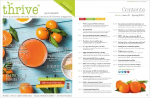 nutrition magazine - Thrive Nutrition and Health Magazine