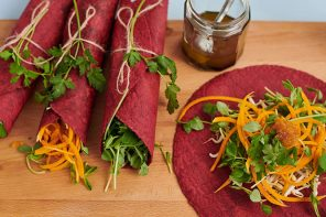 beetroot wraps