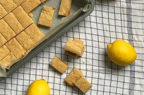 lemon shortbread - Thrive Nutrition and Health Magazine