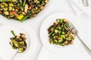 Mixed Pulse & Bean Autumn Salad