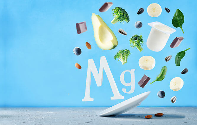 magnesium and food