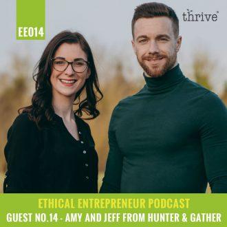 ethical entrepreneur podcast - thrive magazine