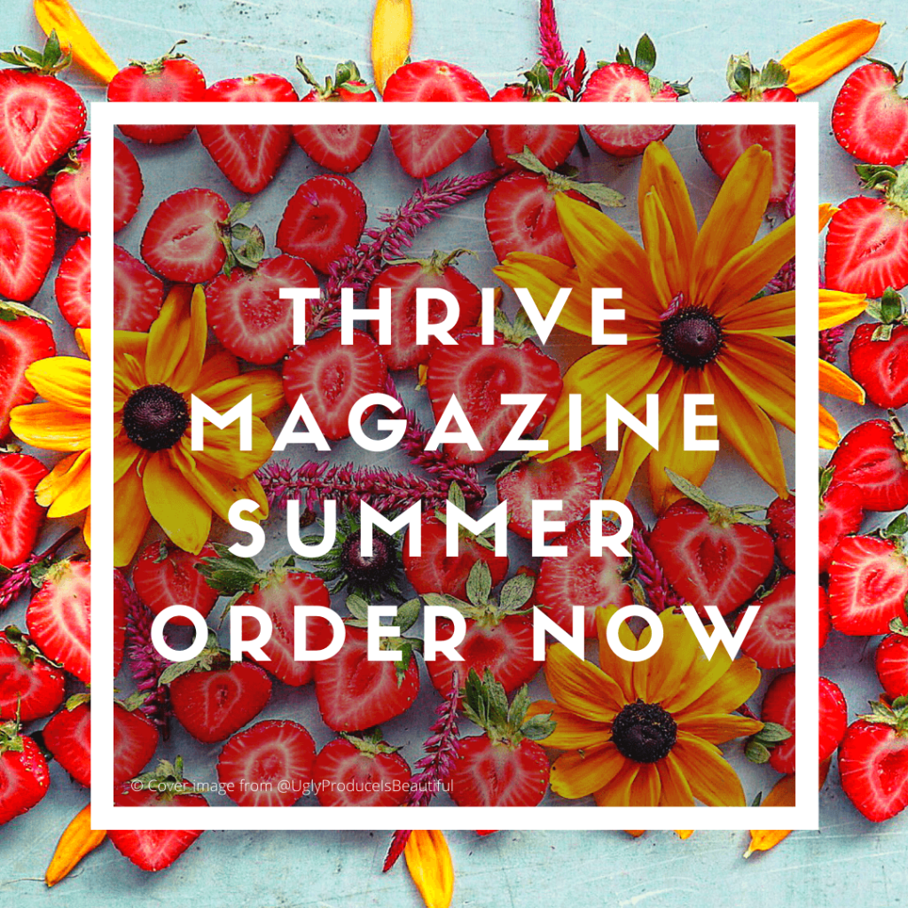 thrive nutrition magazine summer 2020