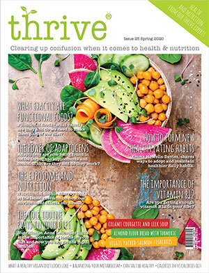 thrive magazine spring 2020