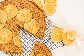 Summer Orange & Almond Cake
