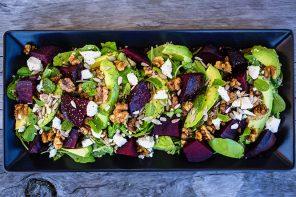 Beetroot, Avocado & Quinoa Salad