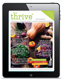 thrive nutrition magazine autumn 2020