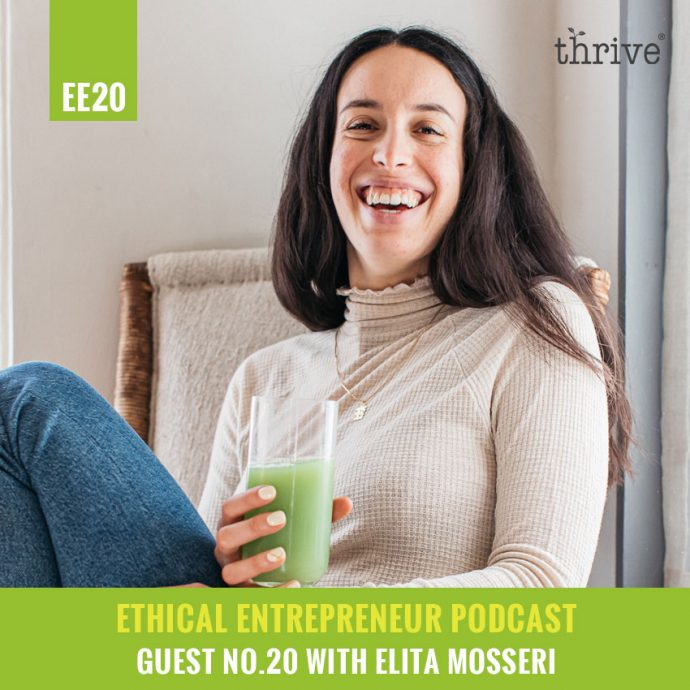 thrive podcast - elita tulsi spirit