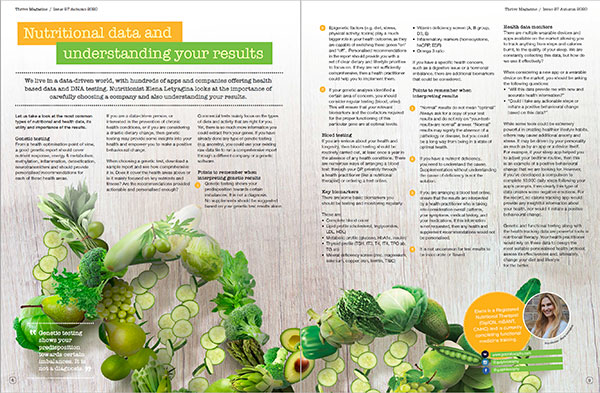 thrive nutrition magazine inside