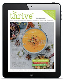 thrive nutrition magazine witner 2020