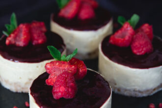 Mango and Berry Mousse