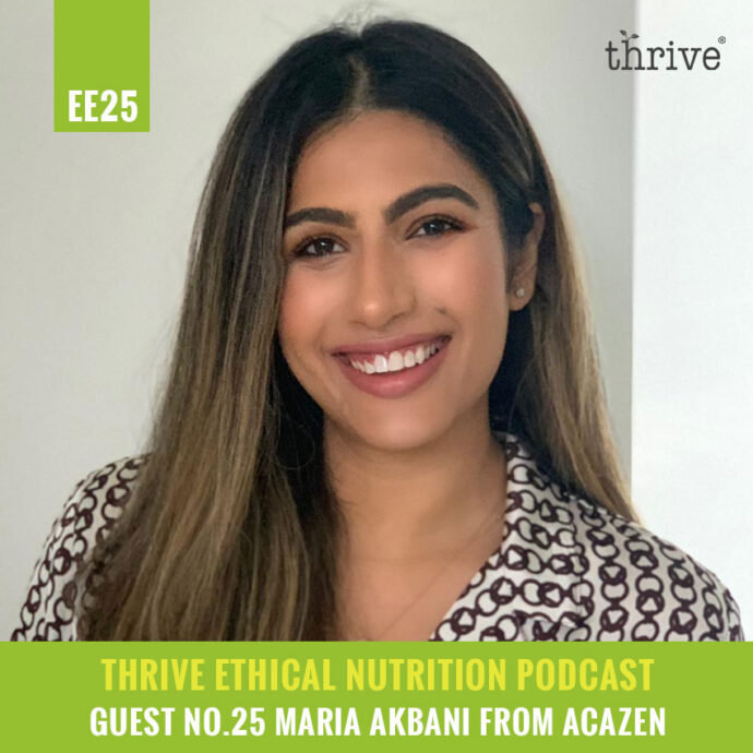 acazen - thrive nutrition podcast