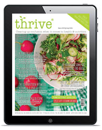 thrive nutrition magazine